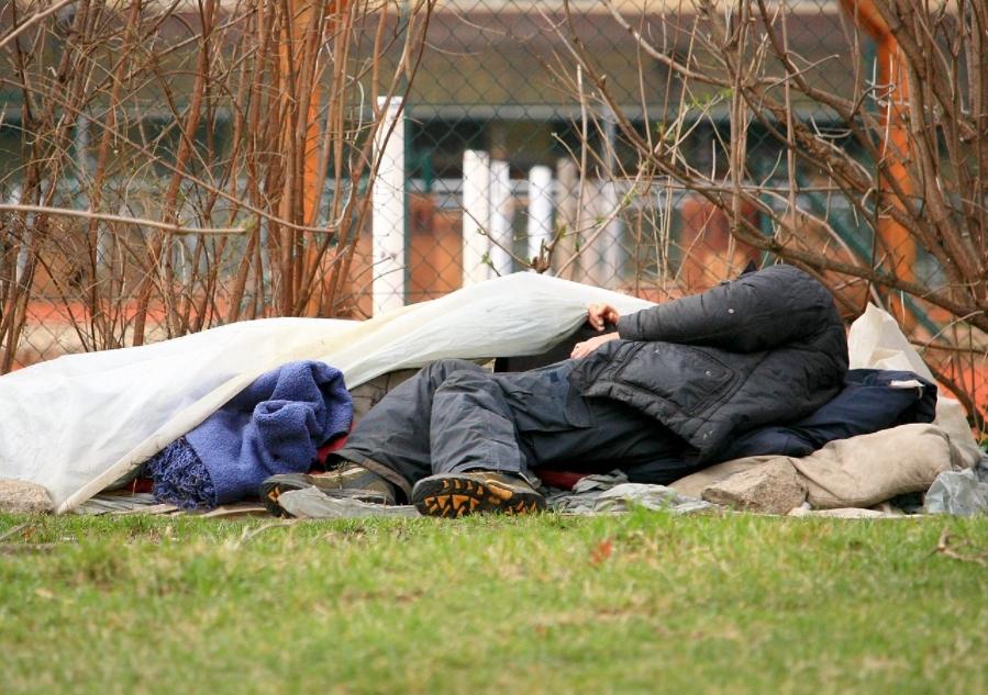 bezdomovec švýcarsko