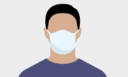 nošení masky roušky