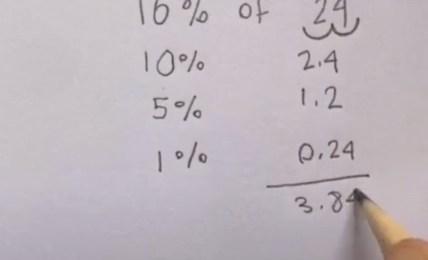jak počítat procenta