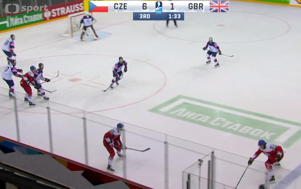 česko velká británie hokej