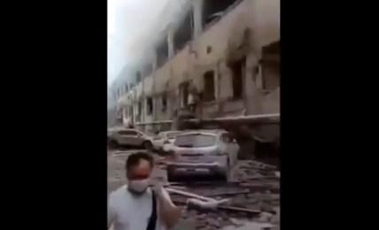 exploze čína