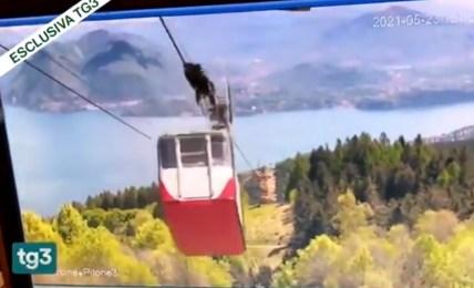 havárie lanovky itálie