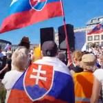 slovensko protest čaputová