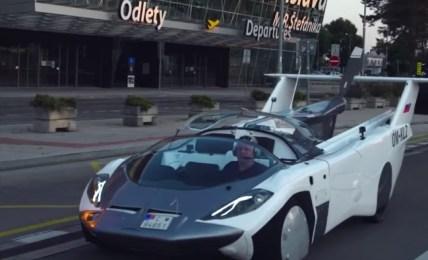 létající auto slovensko