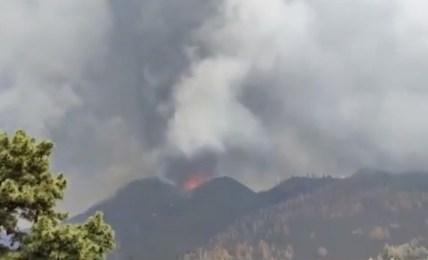sopka výbuch la palma