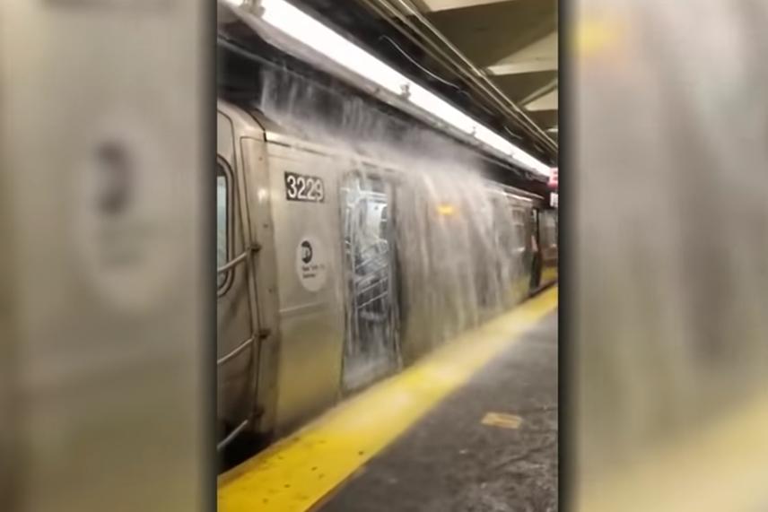 new york hurikán