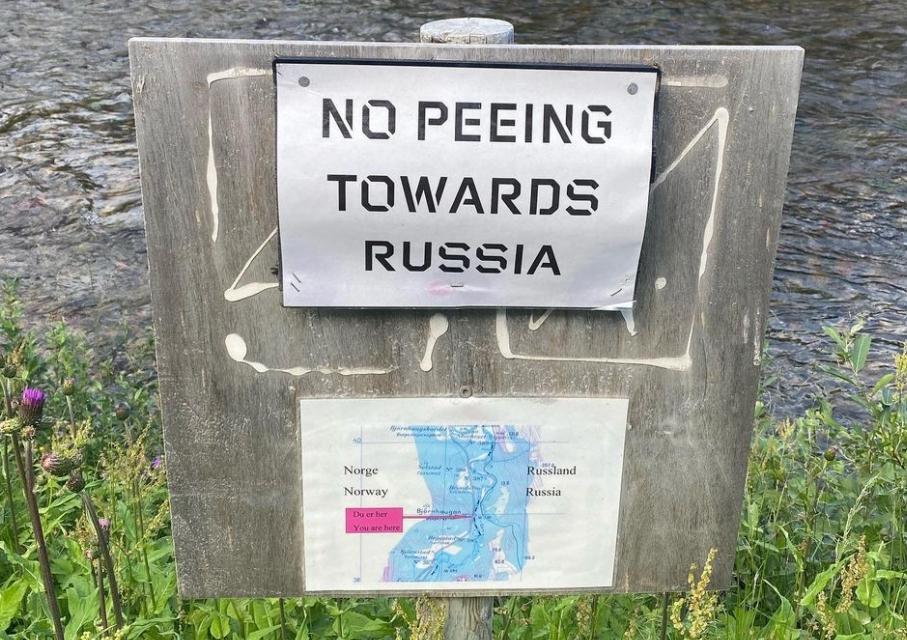čůrání rusko