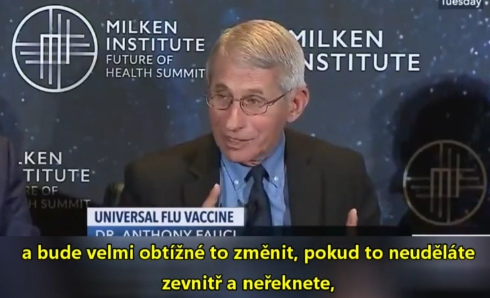 fauci mrna vakcíny