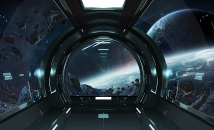 kosmická loď vesmír