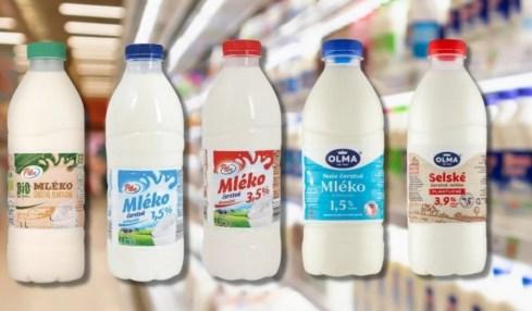 mléko olma konaminace