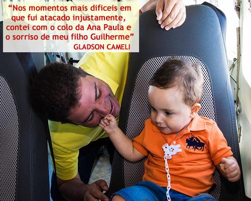 Gladson com guilherme