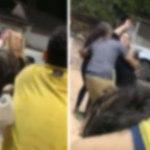 Novinhas protagonizam briga em Fortaleza do Abunã; veja o vídeo