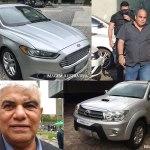 Polícia apreende Ford Fusion de Fonseca e SW4 do irmão de Bittar