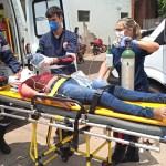 Amigas são atropeladas na Avenida Ceará; motorista fugiu do local