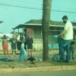 Motociclista dorme na moto, colide contra palmeira e morre na Amadeo Barbosa