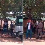 Fiscais da prefeitura de Socorro Neri destroem barraca de feirante