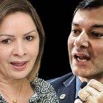 Advogados de Duarte estudam ação contra abuso e Socorro diz que agiu como prefeita, não como candidata