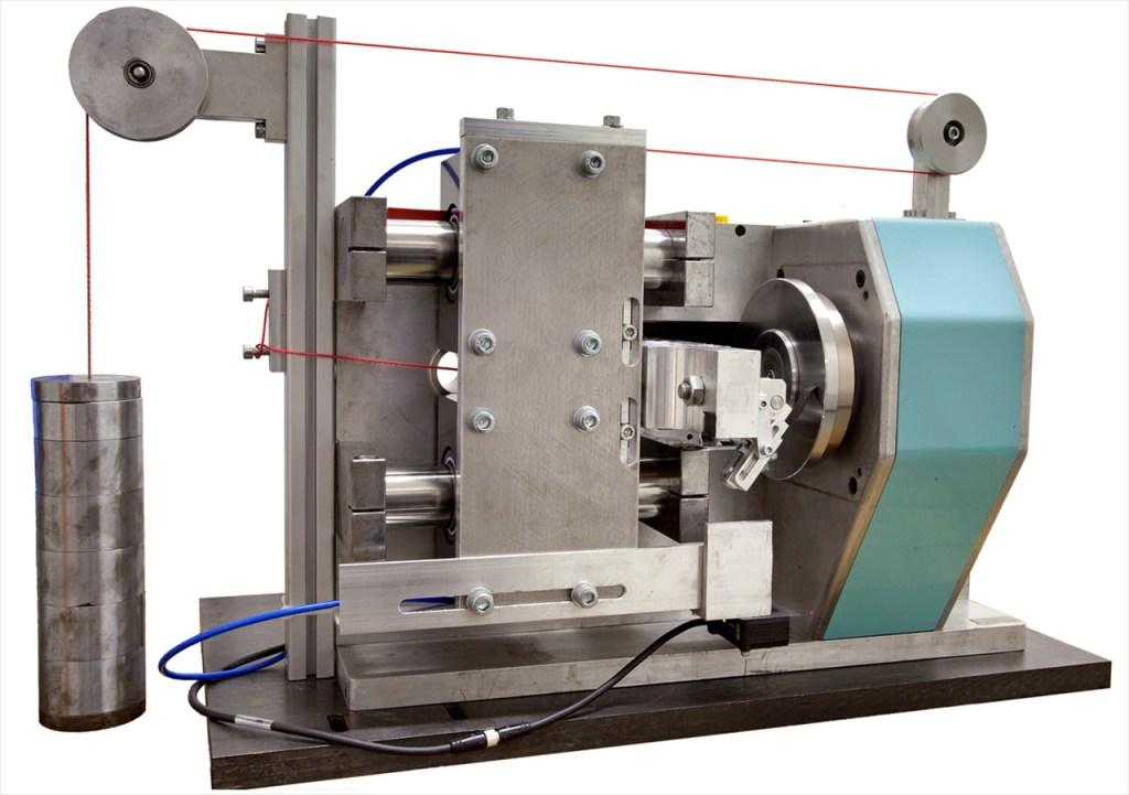 Stift-Scheibe Tribometer - horizontale Belastung