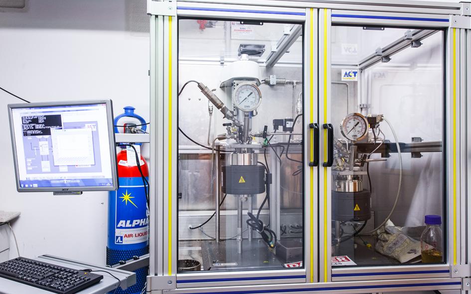 Gas in Flüssigkeit Messgerät
