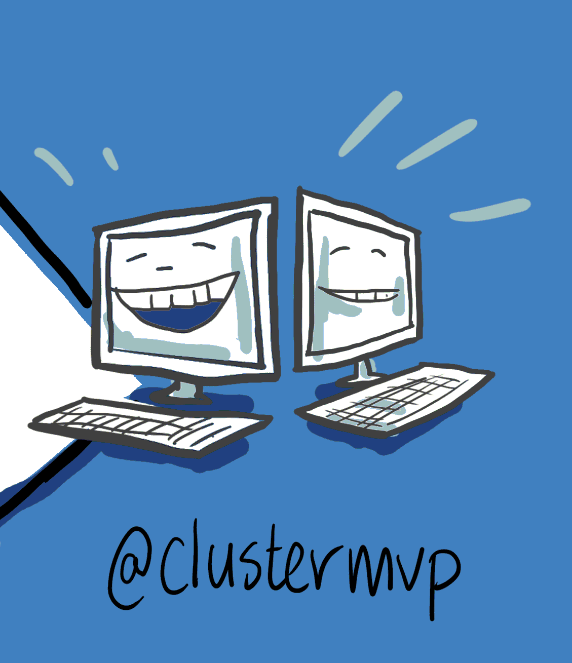 Follow me on twitter clustermvp