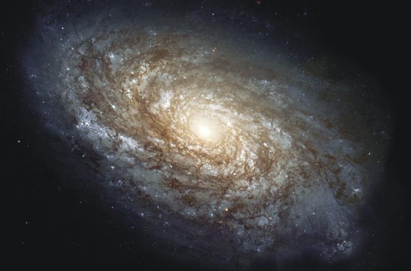 foto de uma galáxia