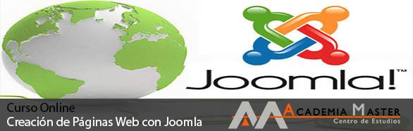 Curso de Creacion de paginas web con Joomla Academia Master informatica marbella-malaga