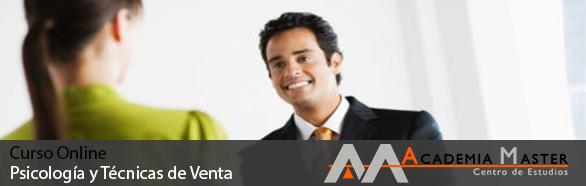 Curso Online Psicología y Técnicas de Venta Academia Master Informatica Marbella-Malaga