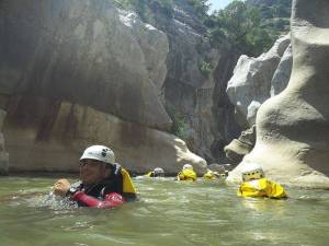 Canyoning Andalucia Las Buitreras