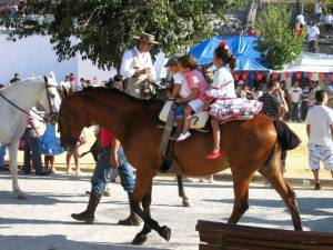 Feria in Prado de Rey, Andalusia, Spain