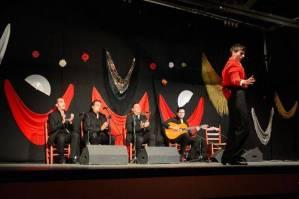 Mit den Spanisch-Sprachschülern beim Kulturausflug, Flamenco in Ubrique II.