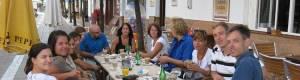 Breakfast at the café Esquina de Carmen in the school building