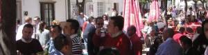 El ambiente de las terrazas de Prado del Rey