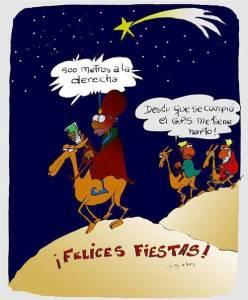 Reyes Magos GPS