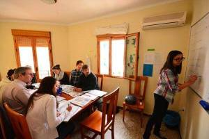Instensiv Spanish course in Spain for all leves.