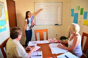 Spanish class for seniors in Andalucia for beginners, intermediate and advanced.