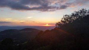 observing sunset hiking Andalusia Spain