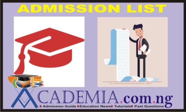 FULAFIA Post UTME: Admission List