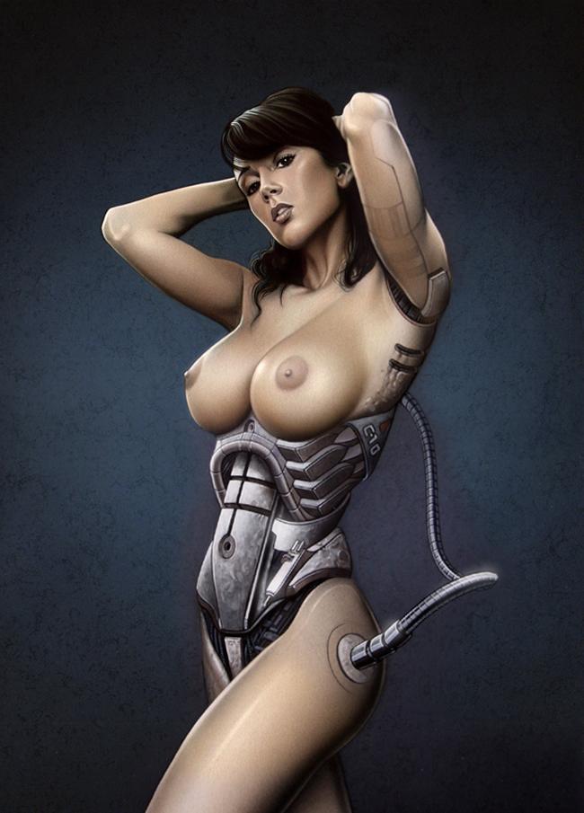 Sandra Galera ilustración aerografía