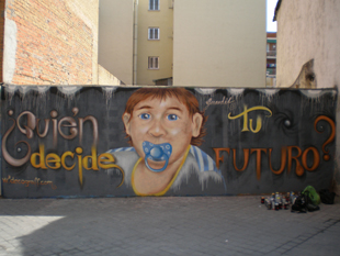 Grafitti de David.