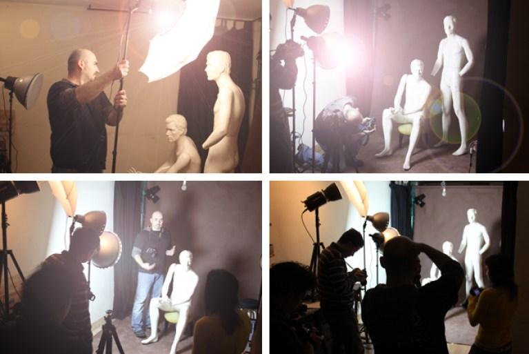 Cursos de fotografia digital de desnudo artistico.