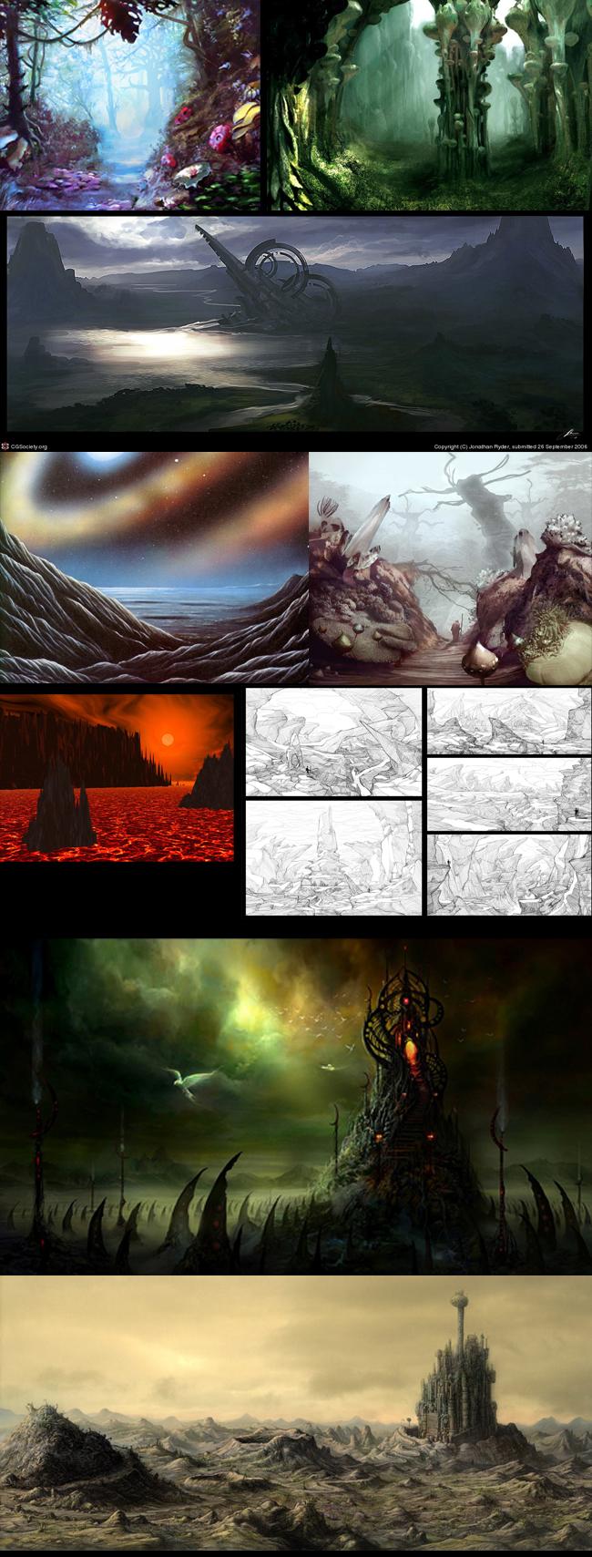 Alienscape es el proximop curso de ilustracion digital en academia C10