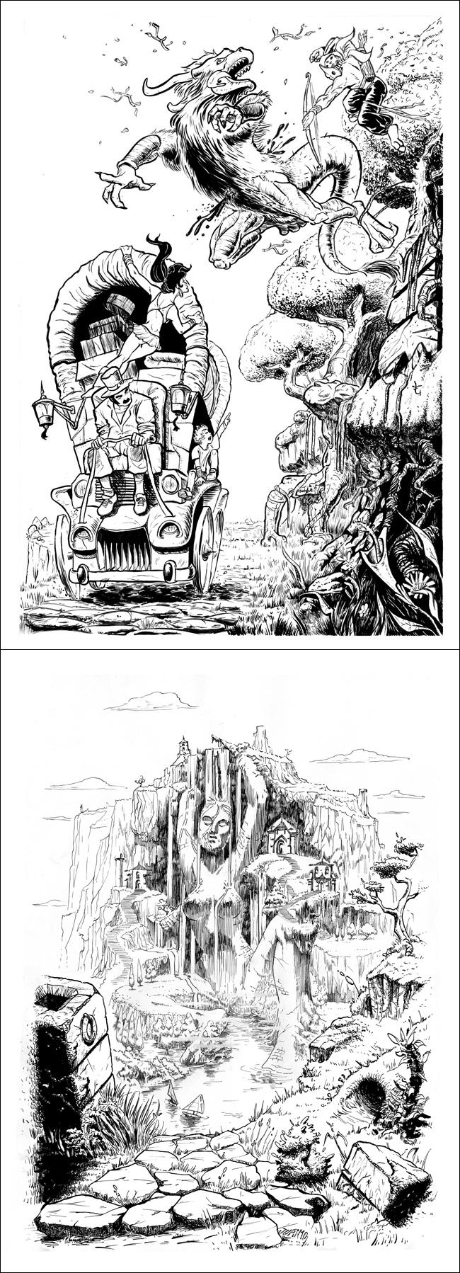 Cursos de comic,ilustracion y entintado. Academia c10. Madrid.