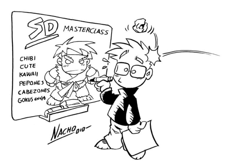 Masterclass de Nacho Fernandez. Autor del comic manga Dragon Fall.