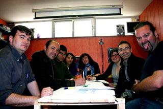 Academia C10 claustro de profesores. Madrid.