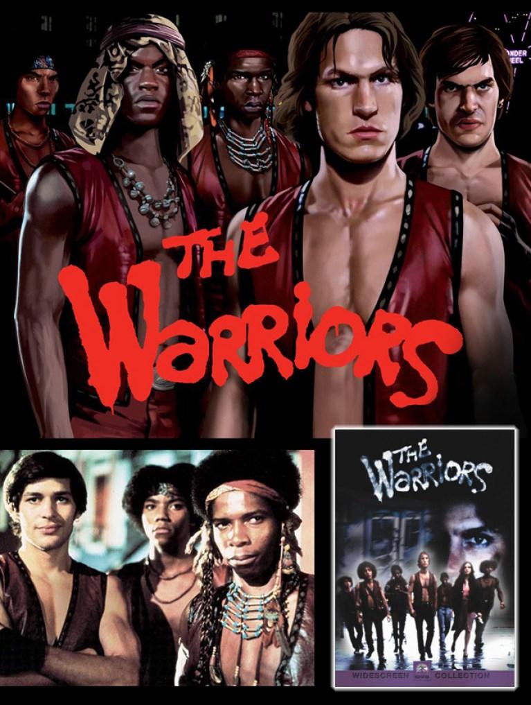 The Warriors 2 en Academia c10. Cursos de comic e ilustracion digital, aerografia, y manga. Madrid. Carlos Diez