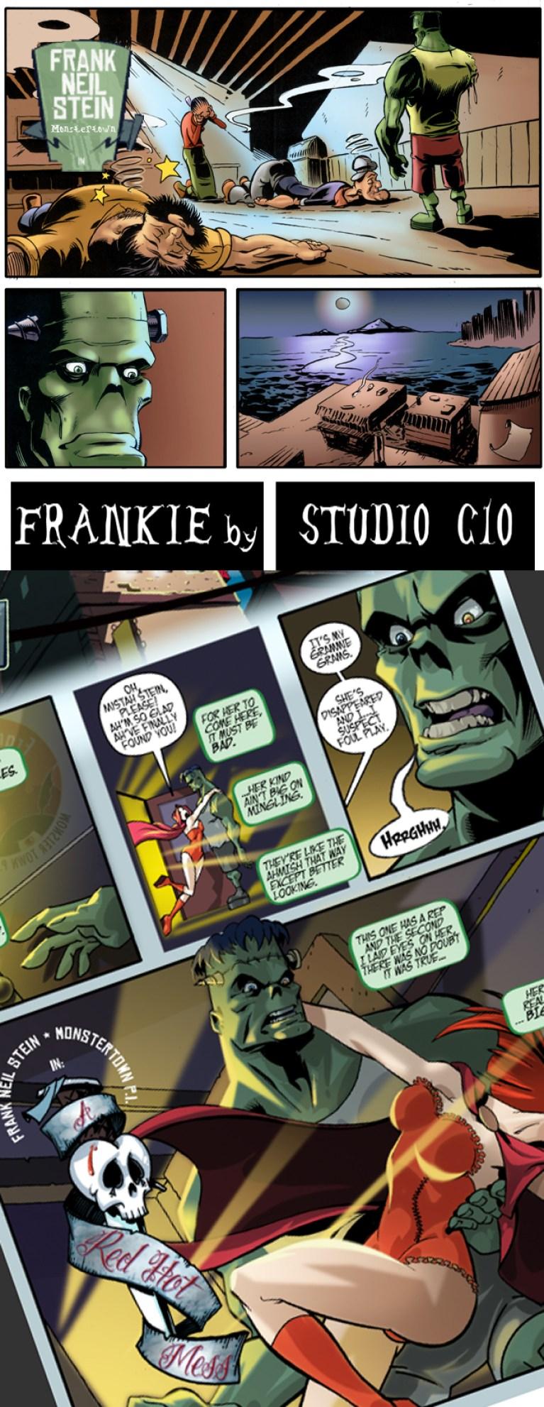 Frankenstein resucita de nuevo en Estudio C10