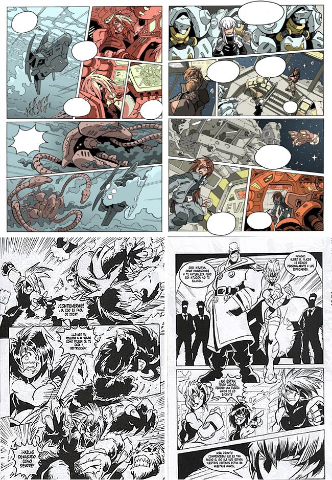 Nacho Fernandez academia c10 carlos diez cursos comic manga 3
