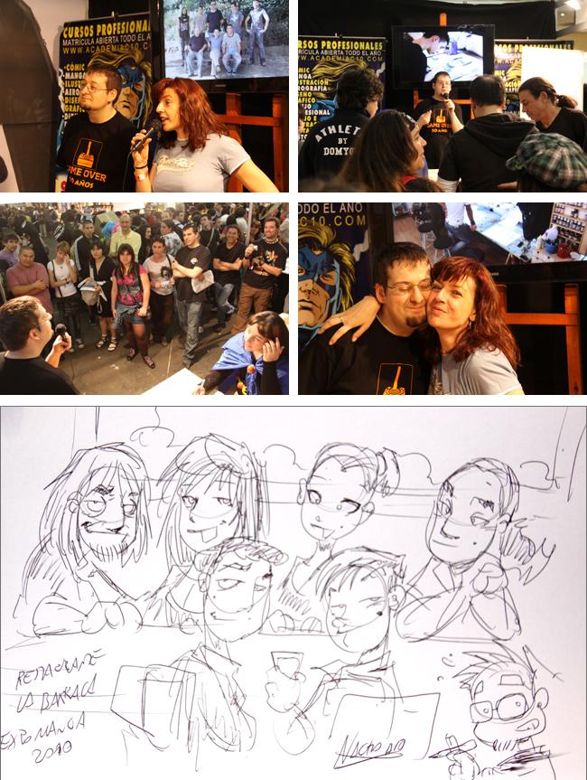 Nacho Fernandez academia c10 carlos diez cursos comic manga 4