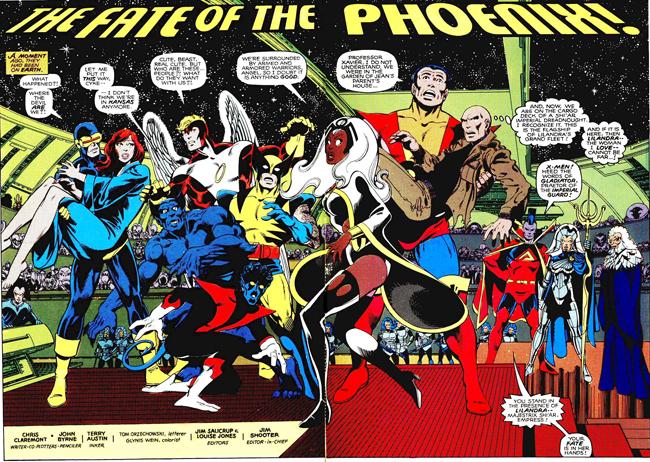 La gruta del cómic: La historia de X-Men.