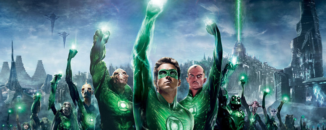 "Trailer de ""Linterna Verde"""